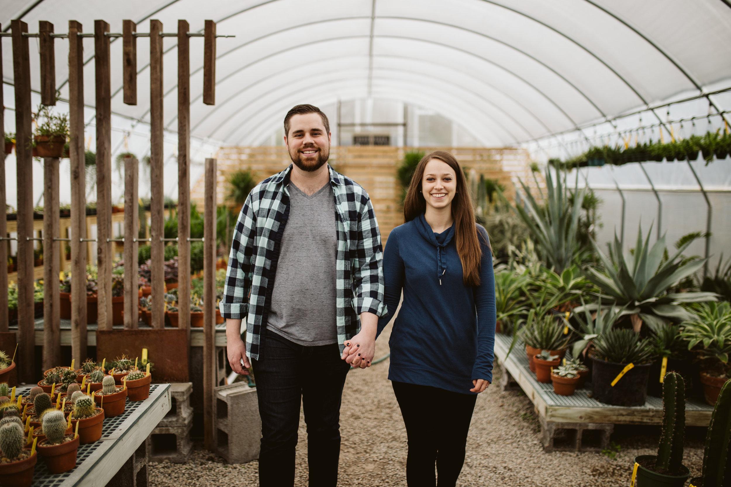 hewitt garden center engagement