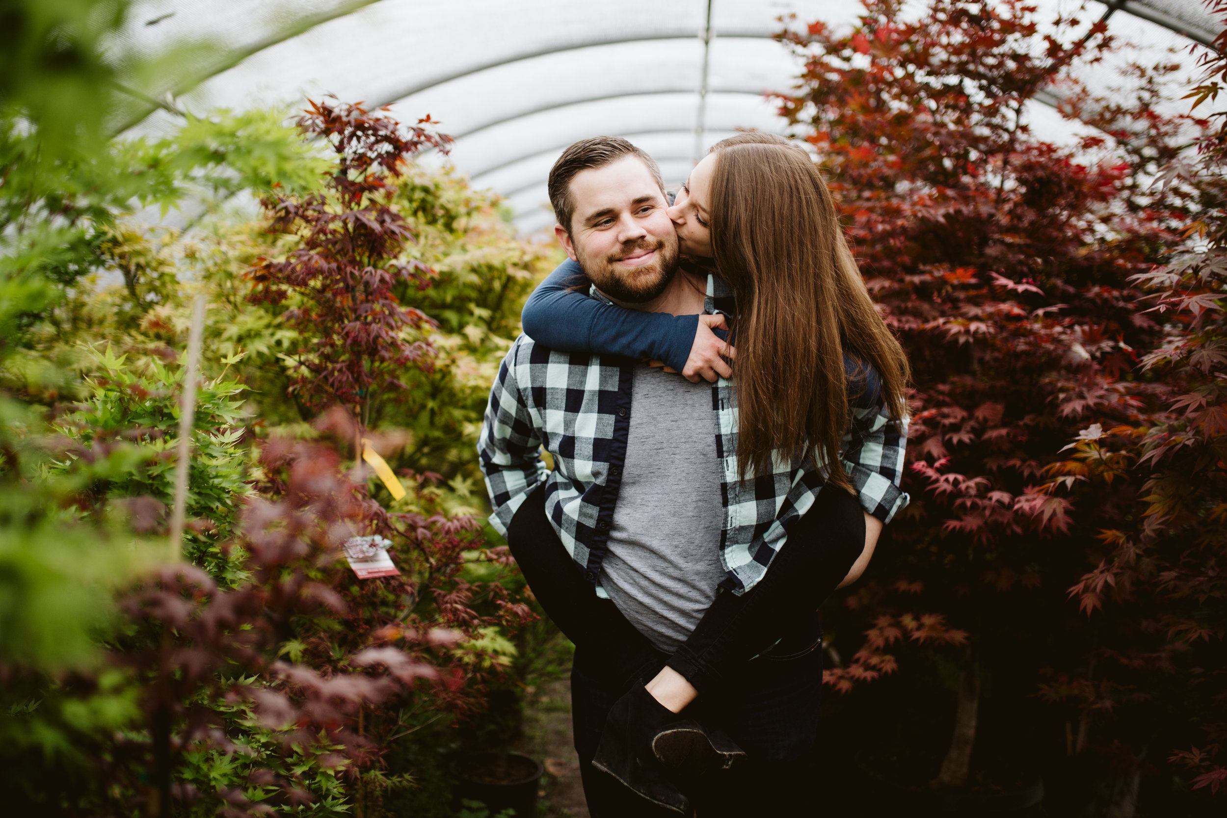 Hewitt Garden Center Engagement