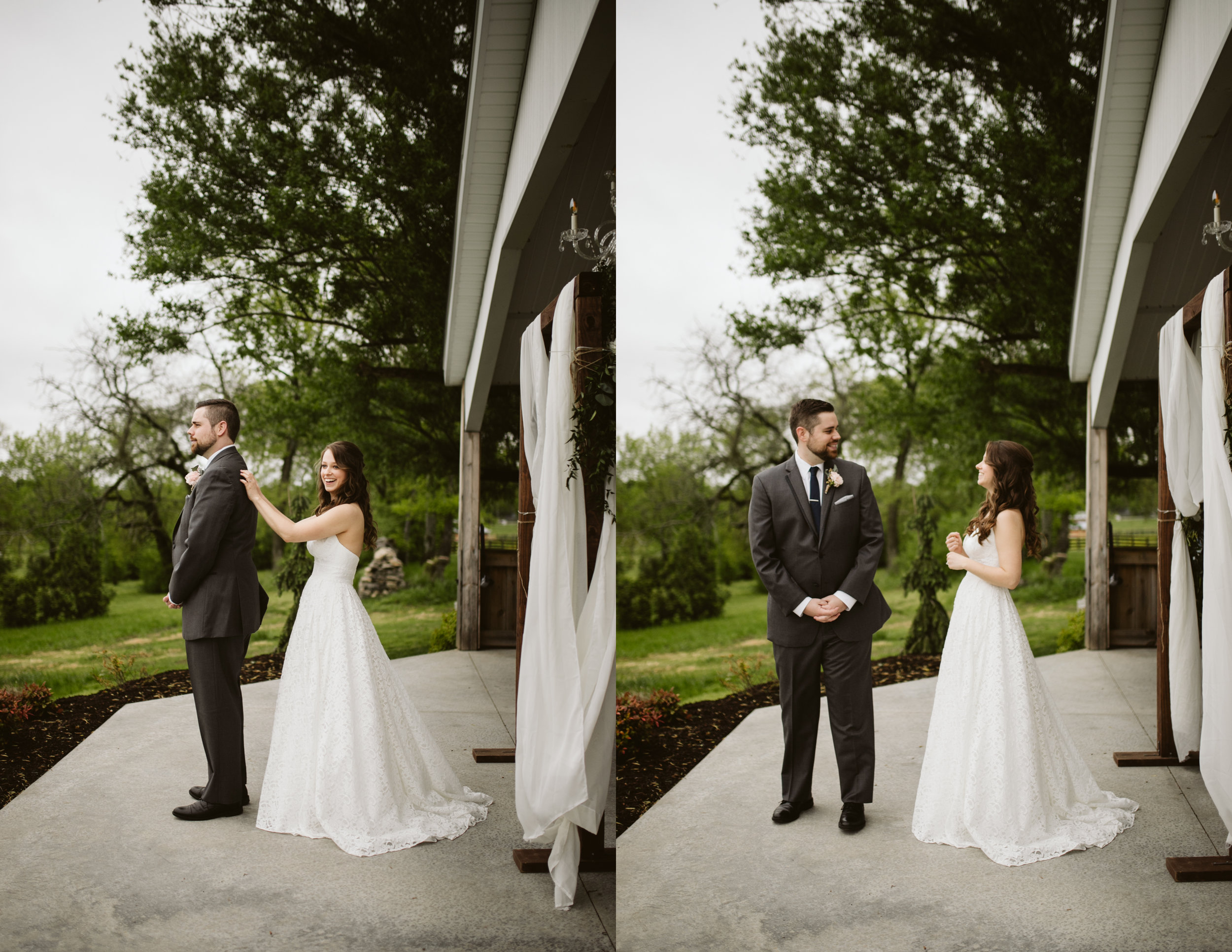 First look at a A Rustic Wedding at Barn in the Bend in Nashville, Tennessee