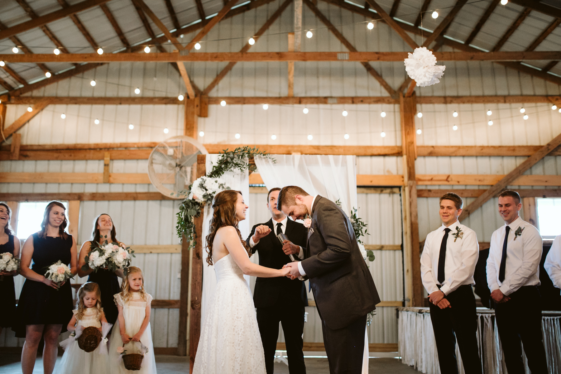 A Rustic Wedding at Barn in the Bend in Nashville, Tennessee