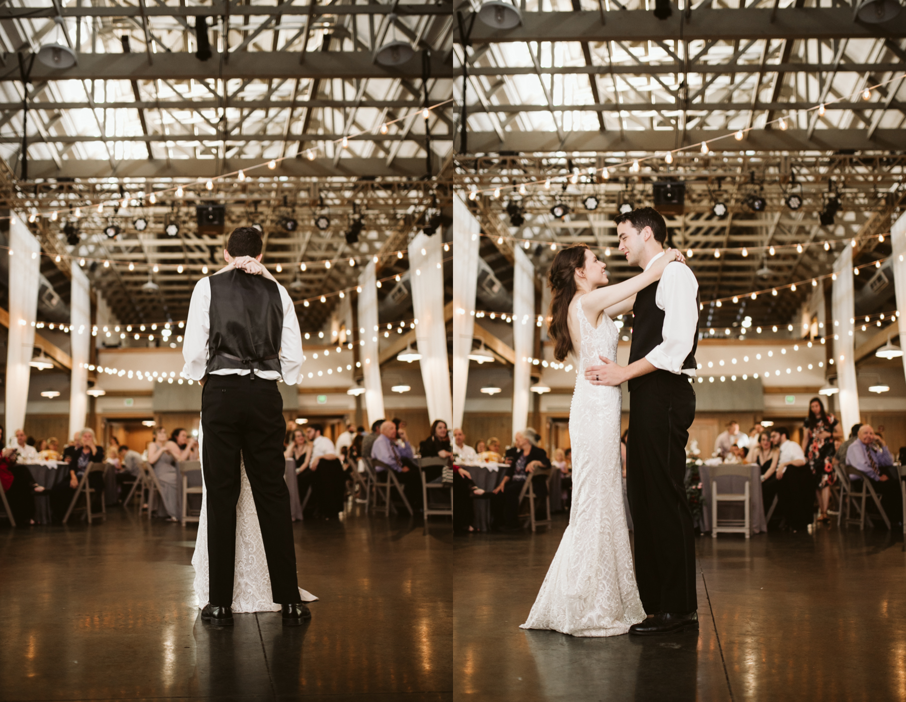 first dances at a Wedding reception at the loveless cafe and barn in nashville, tennessee