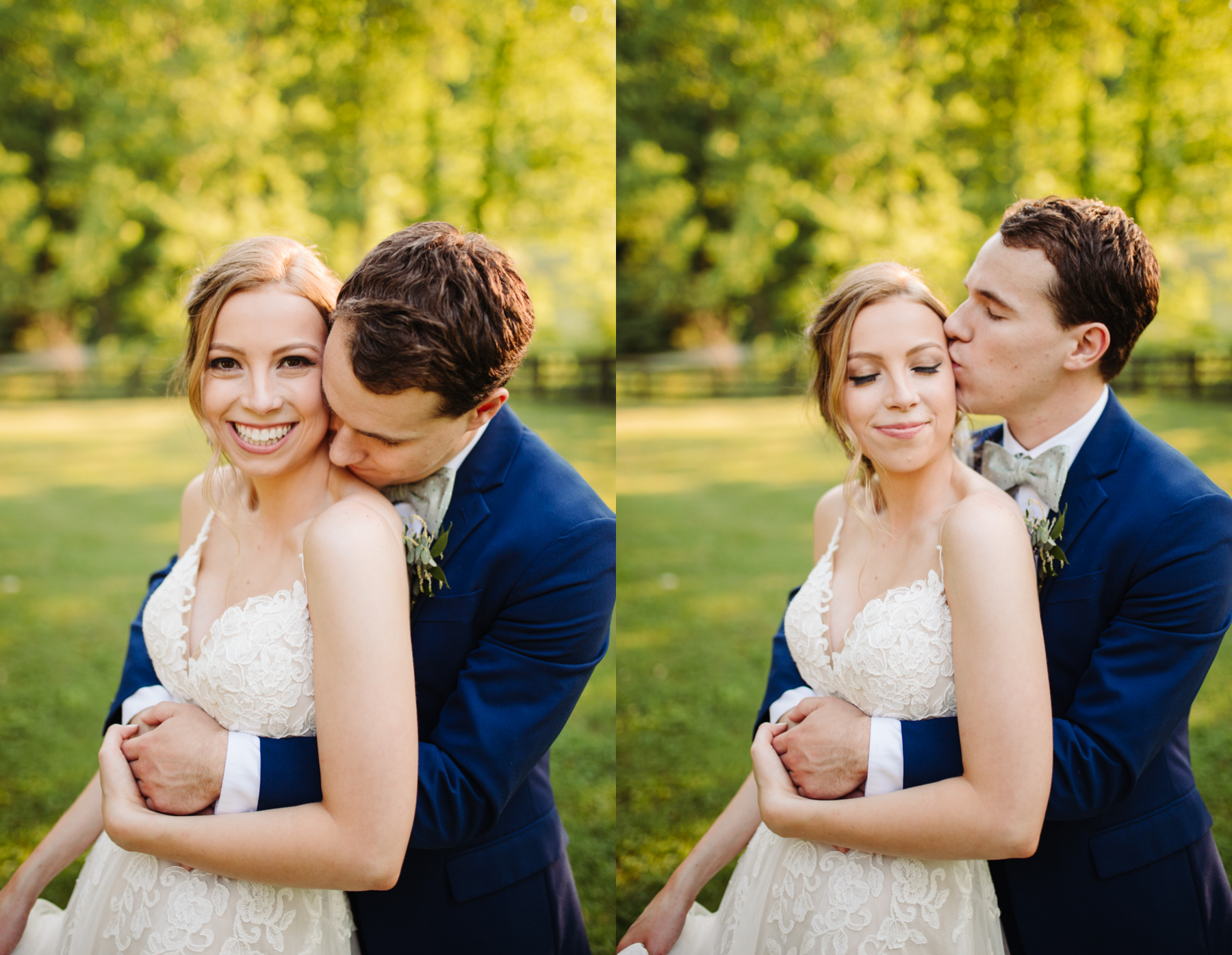 Bride and groom portraits at a stables at strawberry creek wedding in Knoxville, tennessee