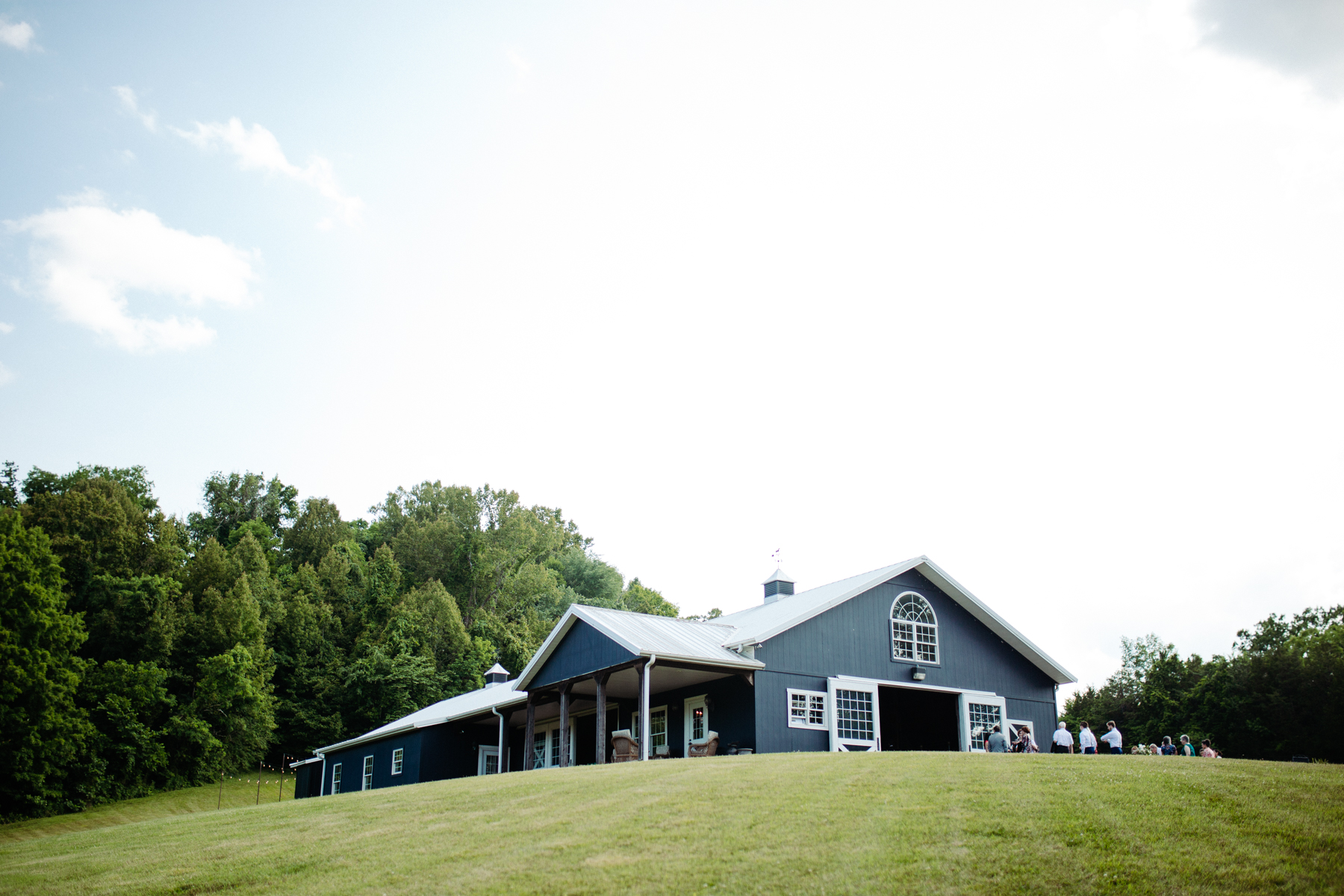 stables at strawberry creek wedding in knoxville, tennessee