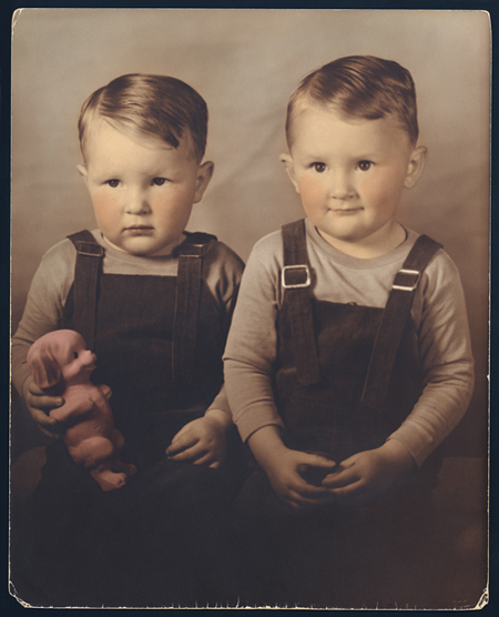 TWIN BOYS DAVID & DANNY, 1942