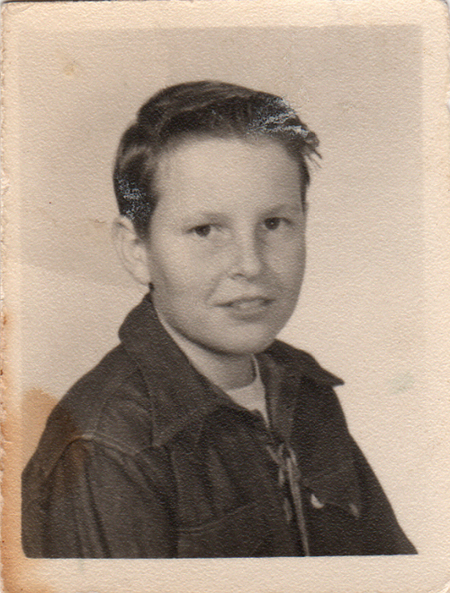 DAVID OMER BEARDEN, 7th GRADE, 12 YRS OLD, CA, 1951