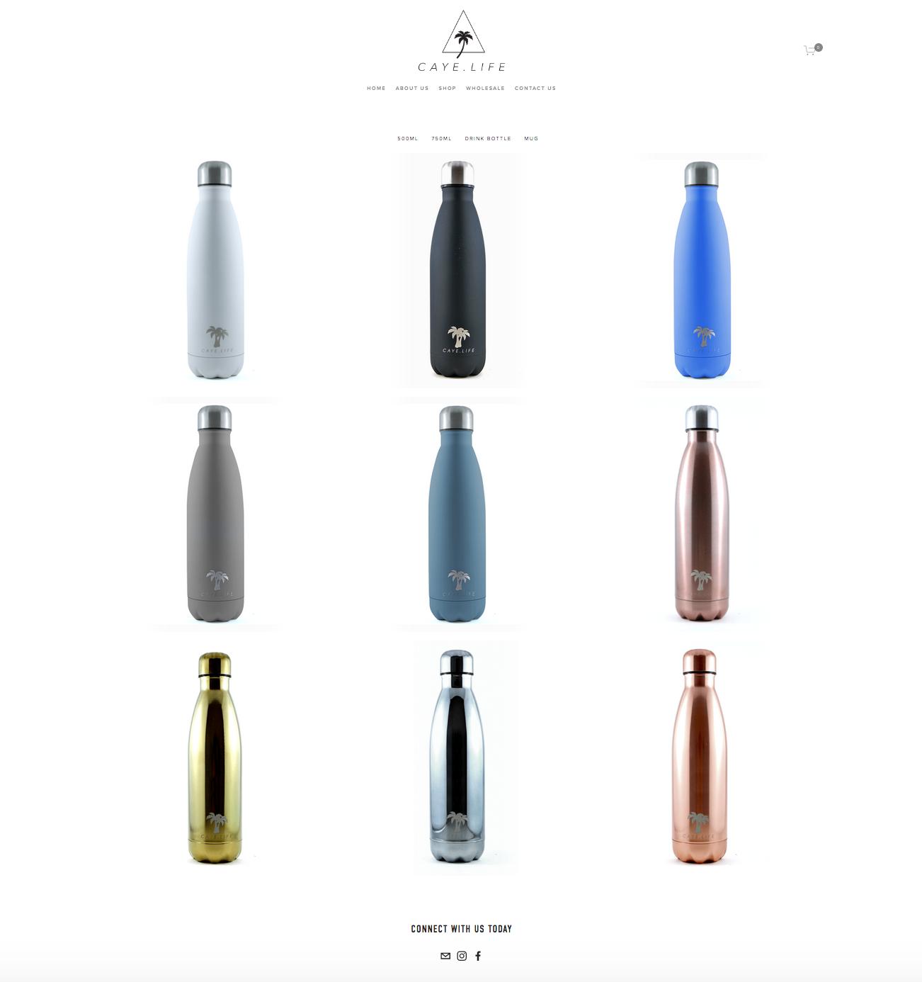 eco-friendly-water-bottle-website-design-melbourne