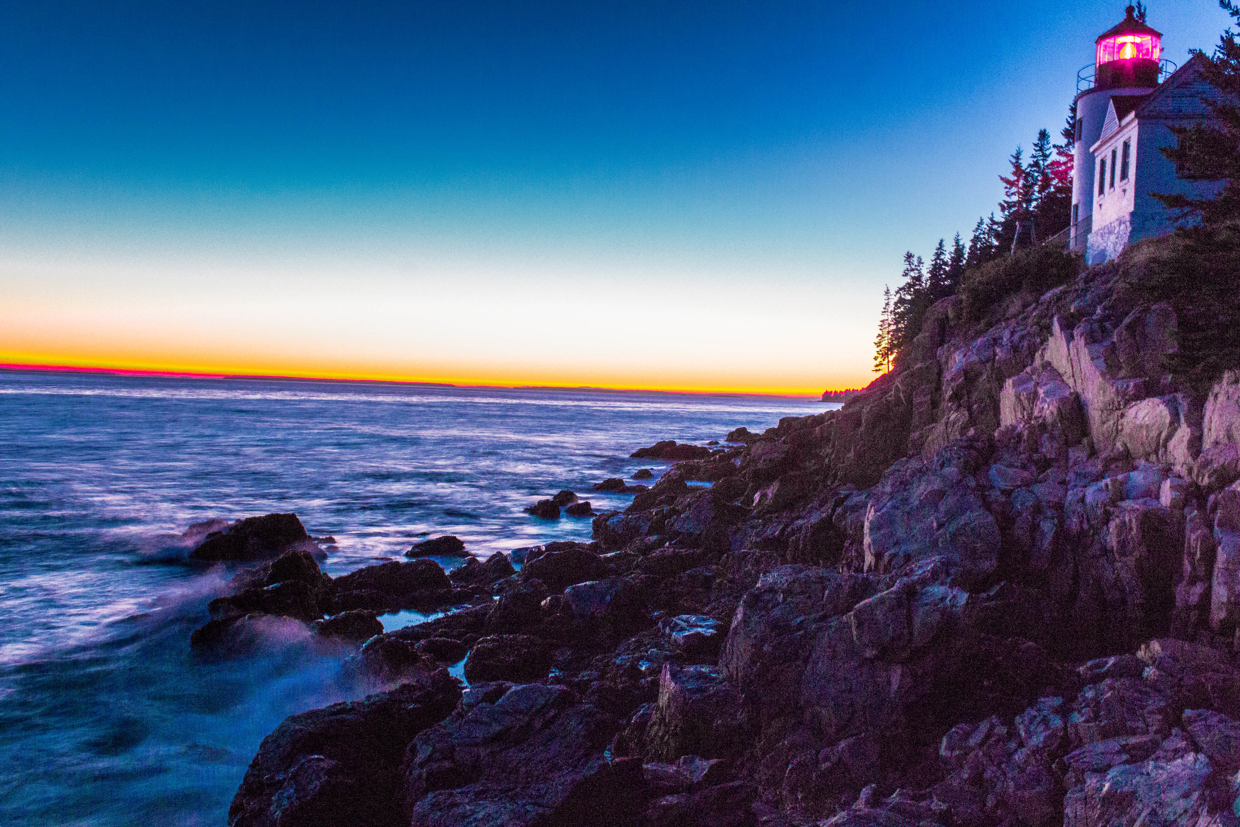 Bass Harbor Lighthouse; Acadia National Park, Maine
