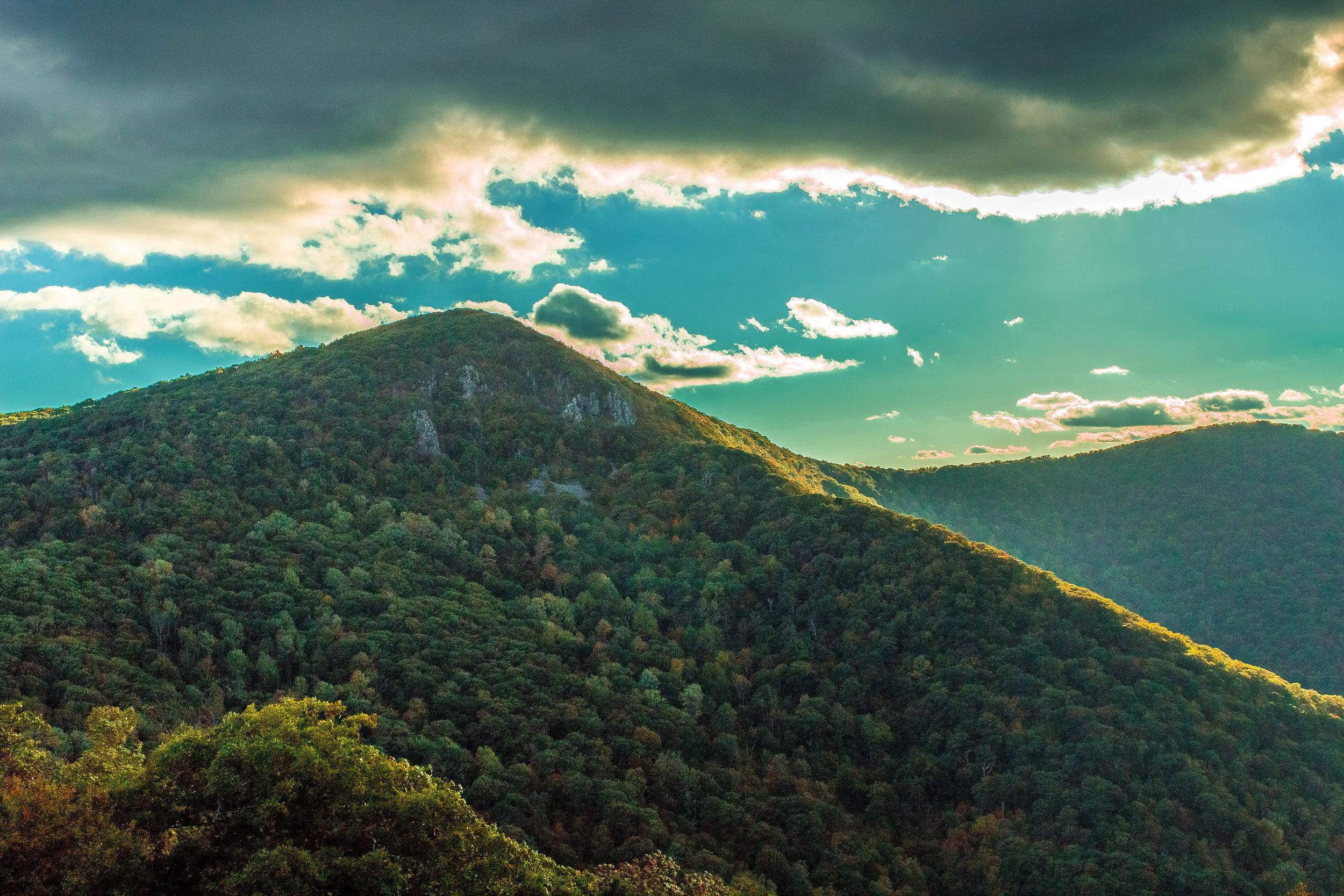 Mountain in Shenandoah National Park, Viriginia