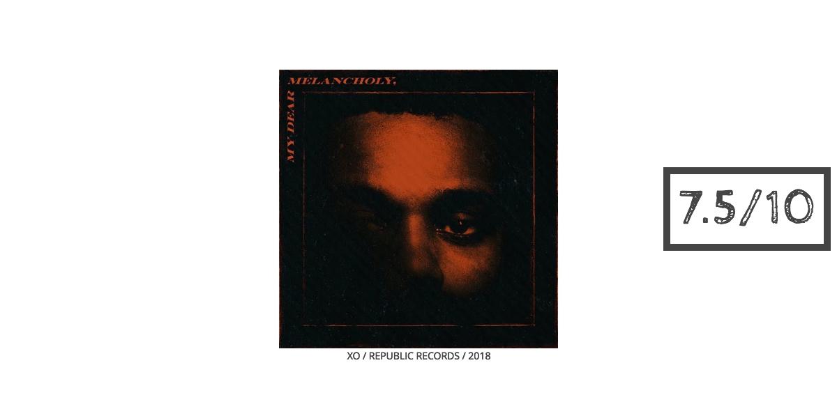 The Weeknd My Dear Melancholy Review Art
