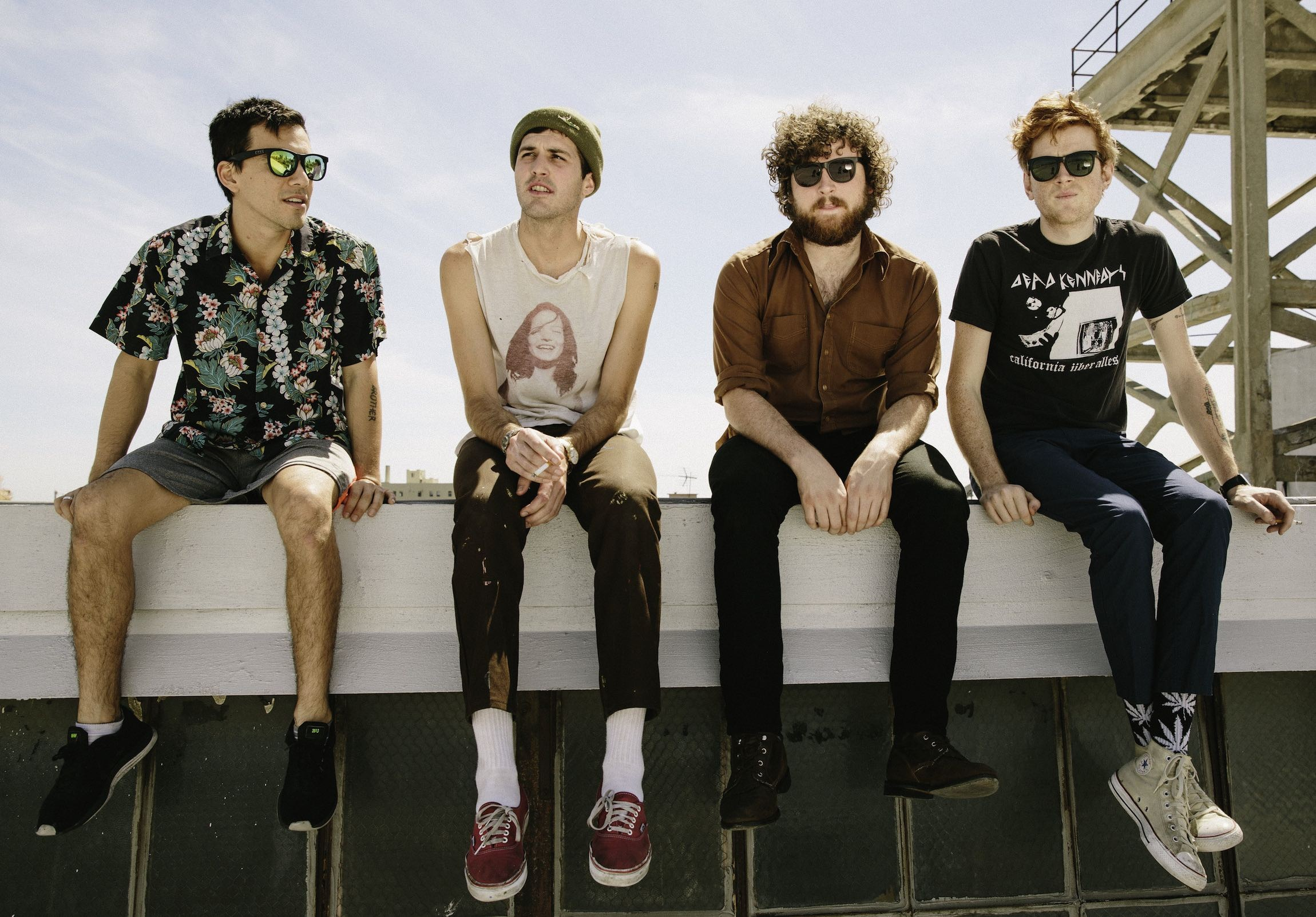 FIDLAR band shot