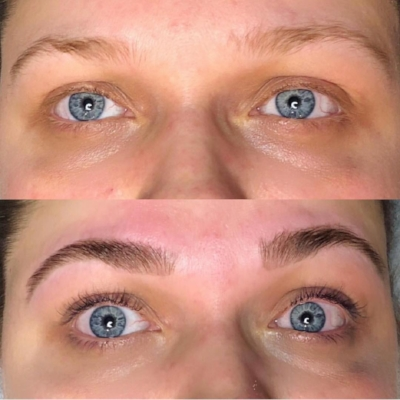 Lash ans eyebrow tinting in asheville nc