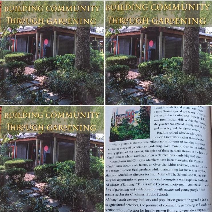 2018--Building community through gardening - Book written by The Civic Garden Center of Greater Cincinnati.