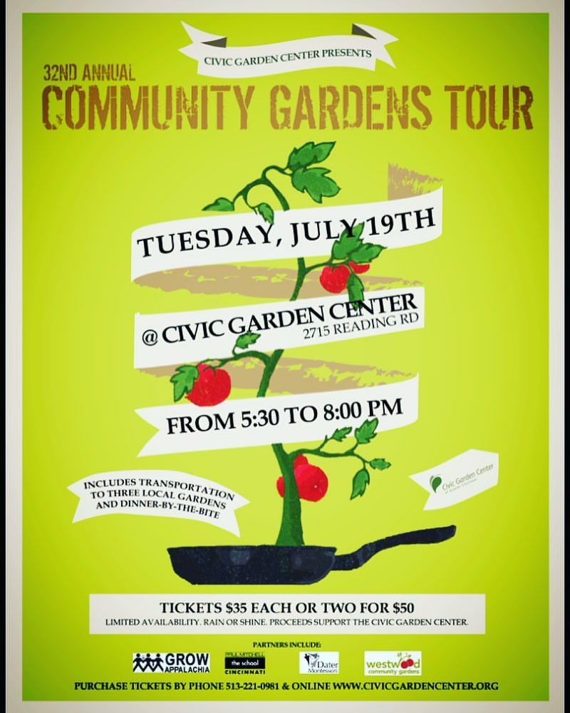 2017--32nd Annual Community Gardens Tour - The OTR People's Garden was one of three gardens featured on the Civic Garden Center's 32nd annual community gardens tour.
