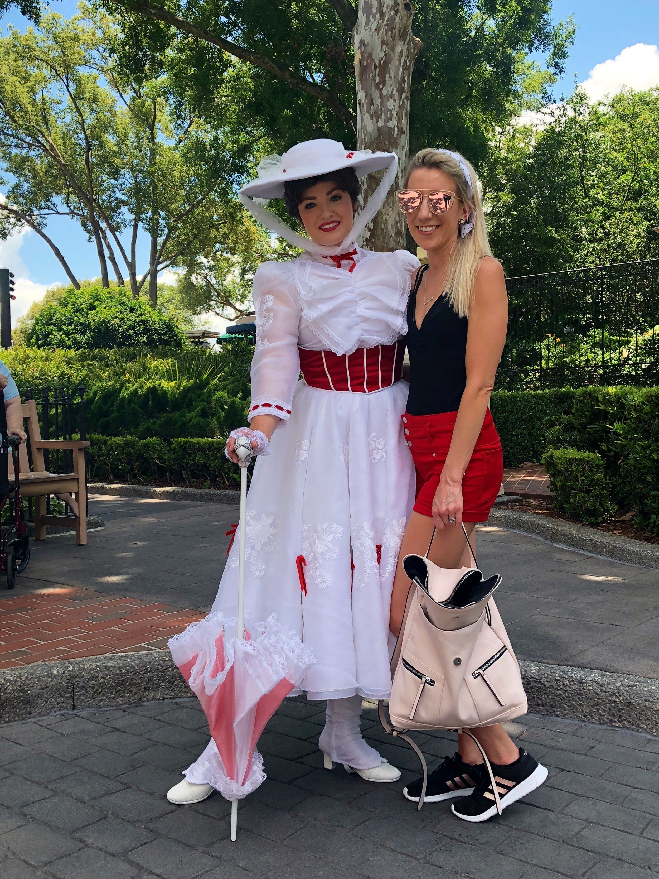 Mary Poppins, Ashlee, &  THE EVA Emergency Bag