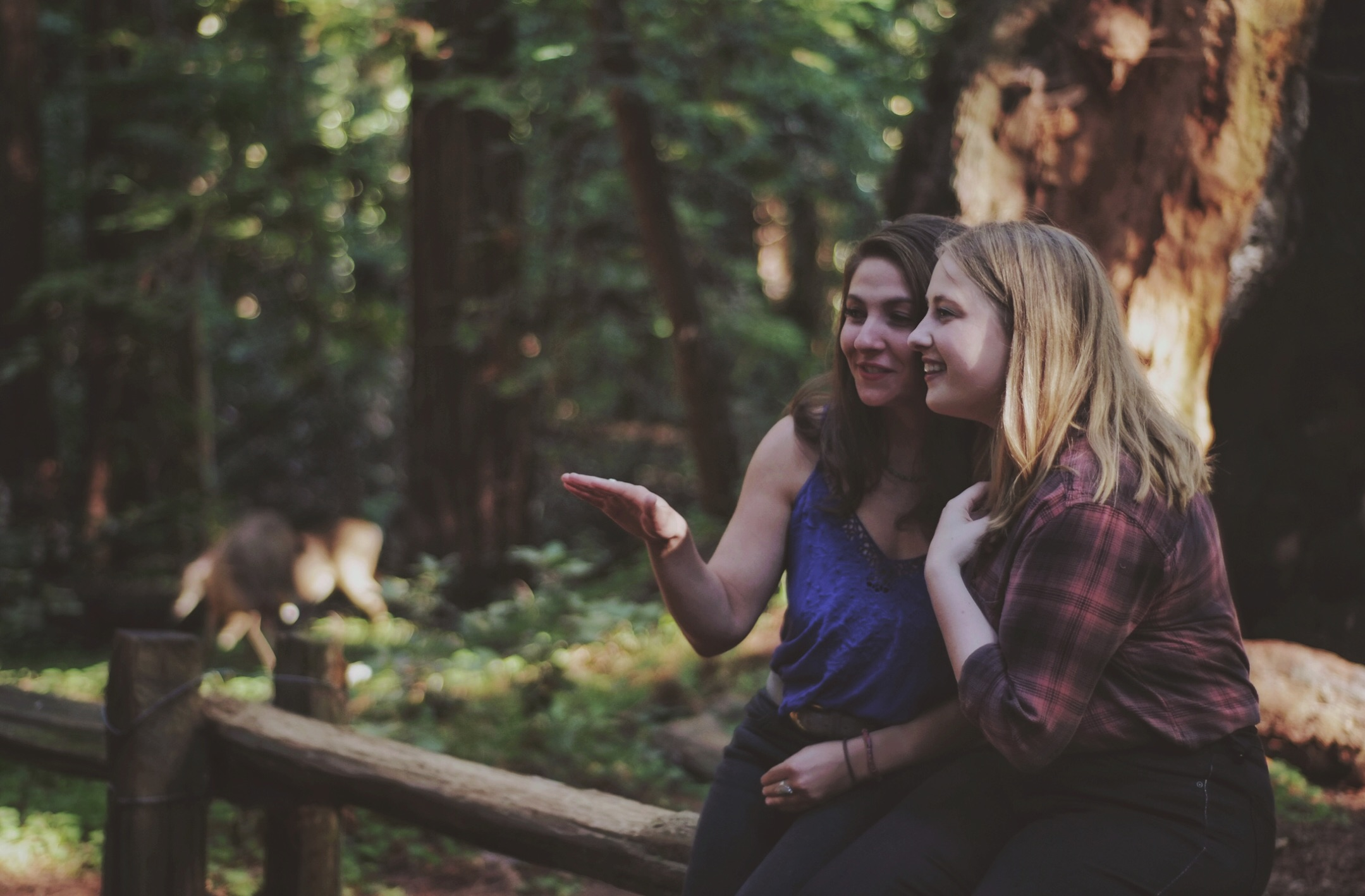 Lauren Chouinard and Lisa Carmack