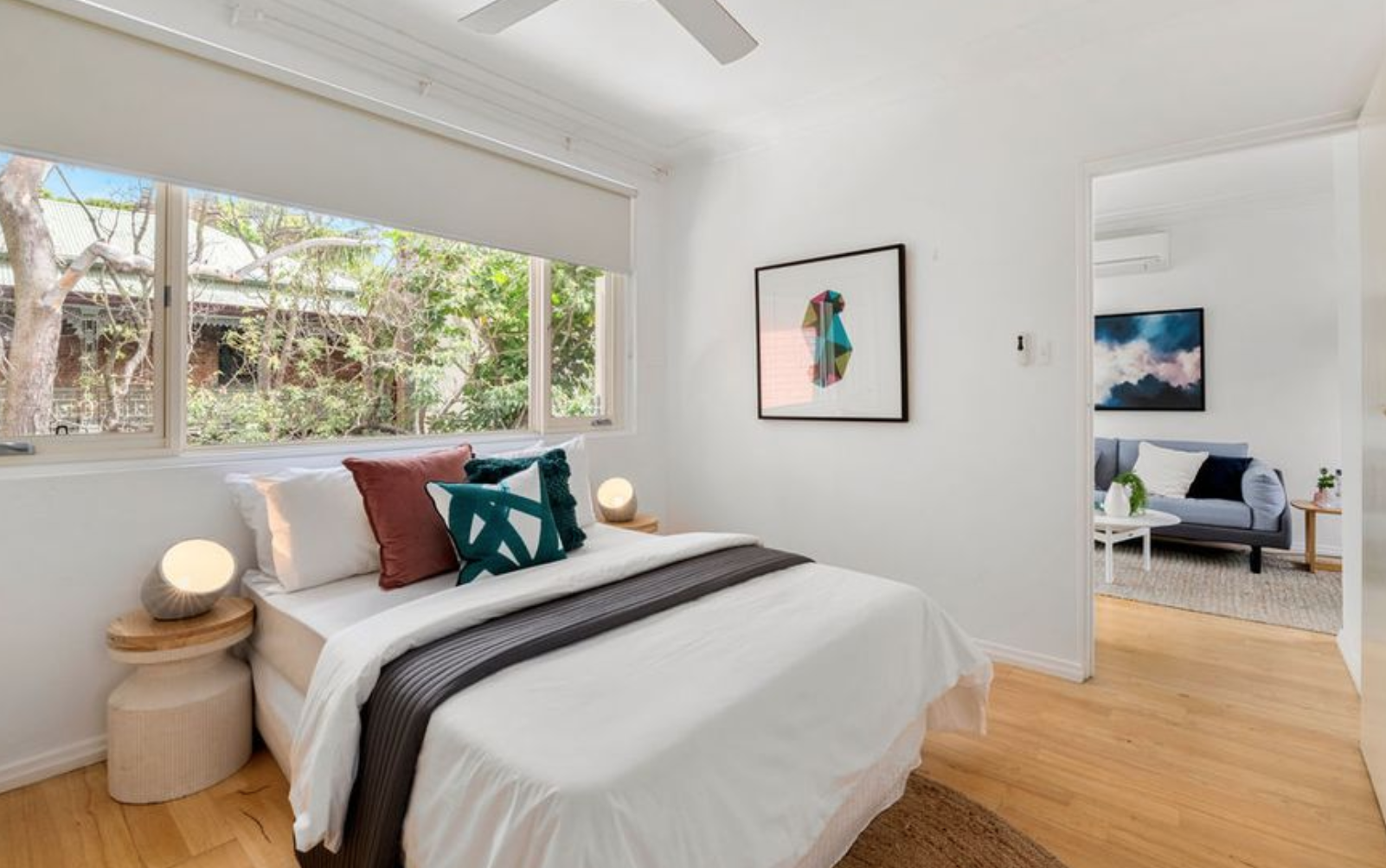 Sydney: an actual one-bedder for less than half a mil.