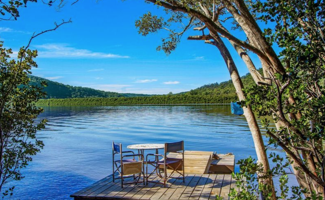 NSW Central Coast: sittin' on the dock of the bay