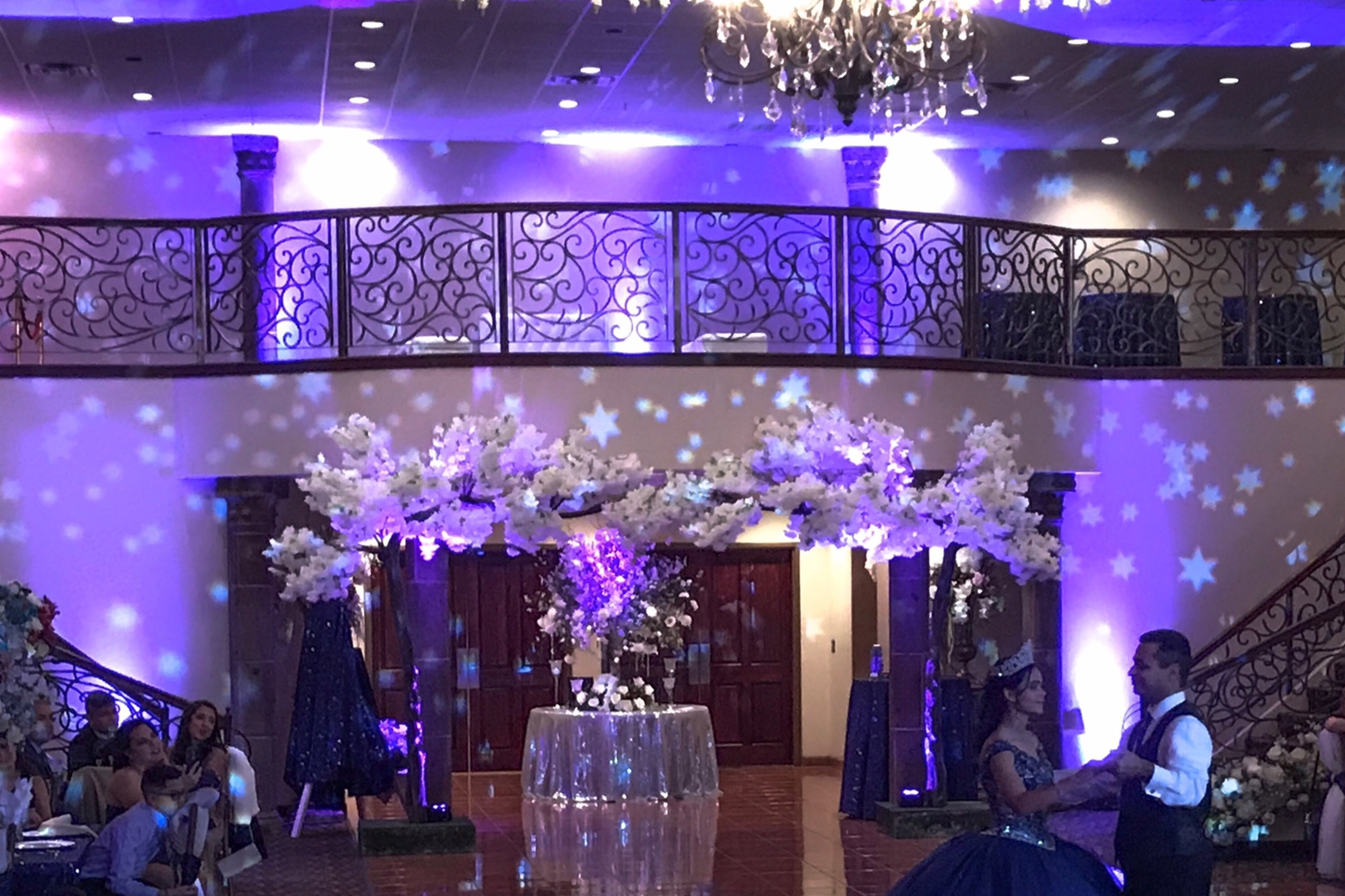 THEMED LIGHTING - WHETHER ITS A STARTY NIGHT SKY EFFECT OR A BLACK LIGHT SHOW THEMED LIGHTING IS THE PERFECT WAY TO BRING YOUR SPECIAL DAY TO LIFE.