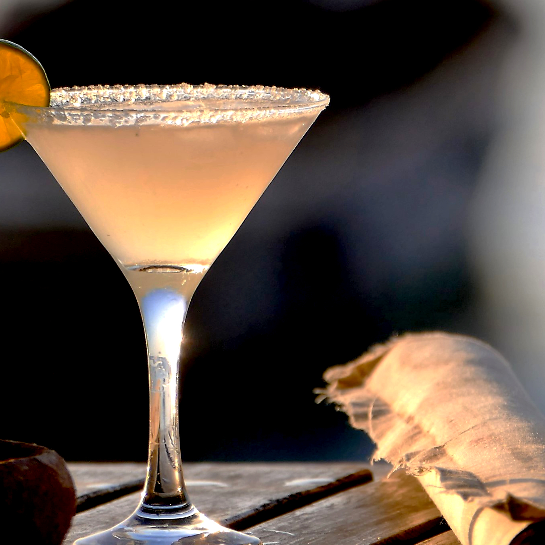 My melon martini - In a shaker, insert the following ingredients1 1/2oz Lavikob vodka1/4 of pureed melonjuice of 1 lime1/2 teaspoon of agave nectarpinch of saltFill with iceShake well and serve in a martini glass