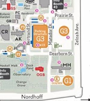 CSUN Campus Map