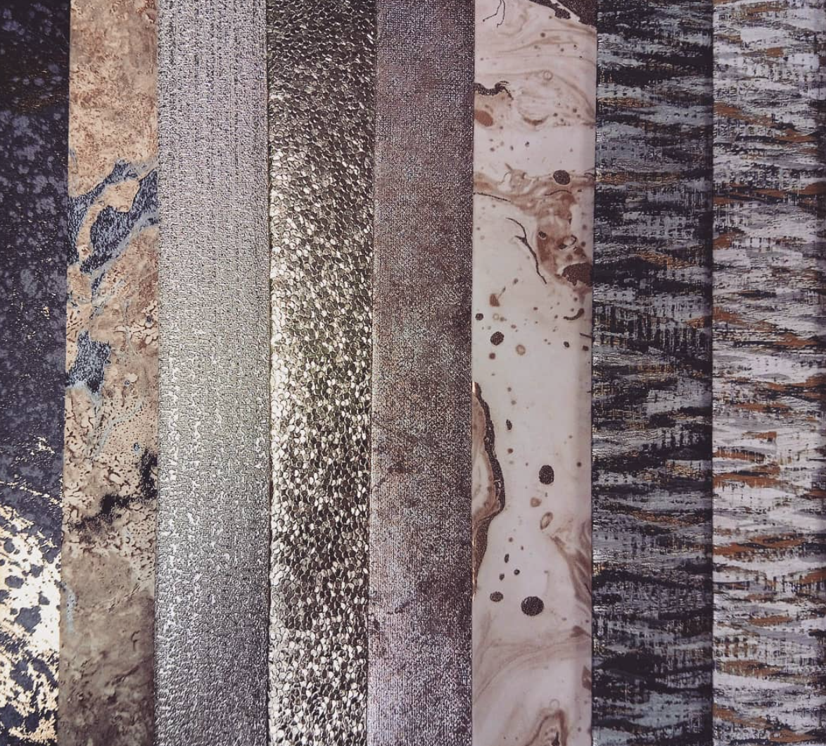 So many beautiful metallic papers to choose from!