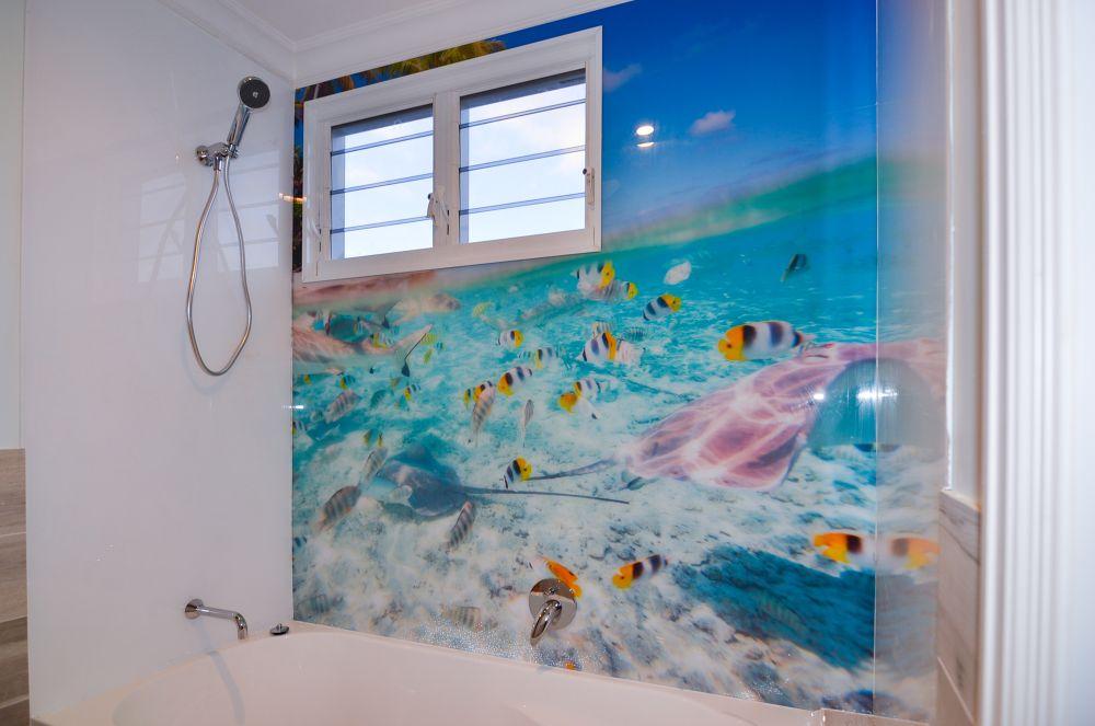 Printed Splashbacks - Underwater and Tropical Fish theme