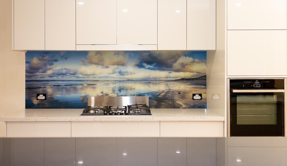 Digital Print Acrylic Kitchen Splashback