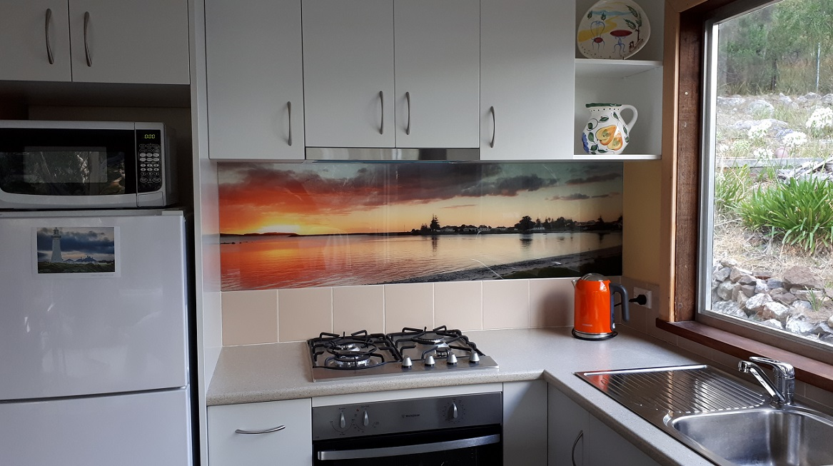 Custom Printed Kitchen Splashback