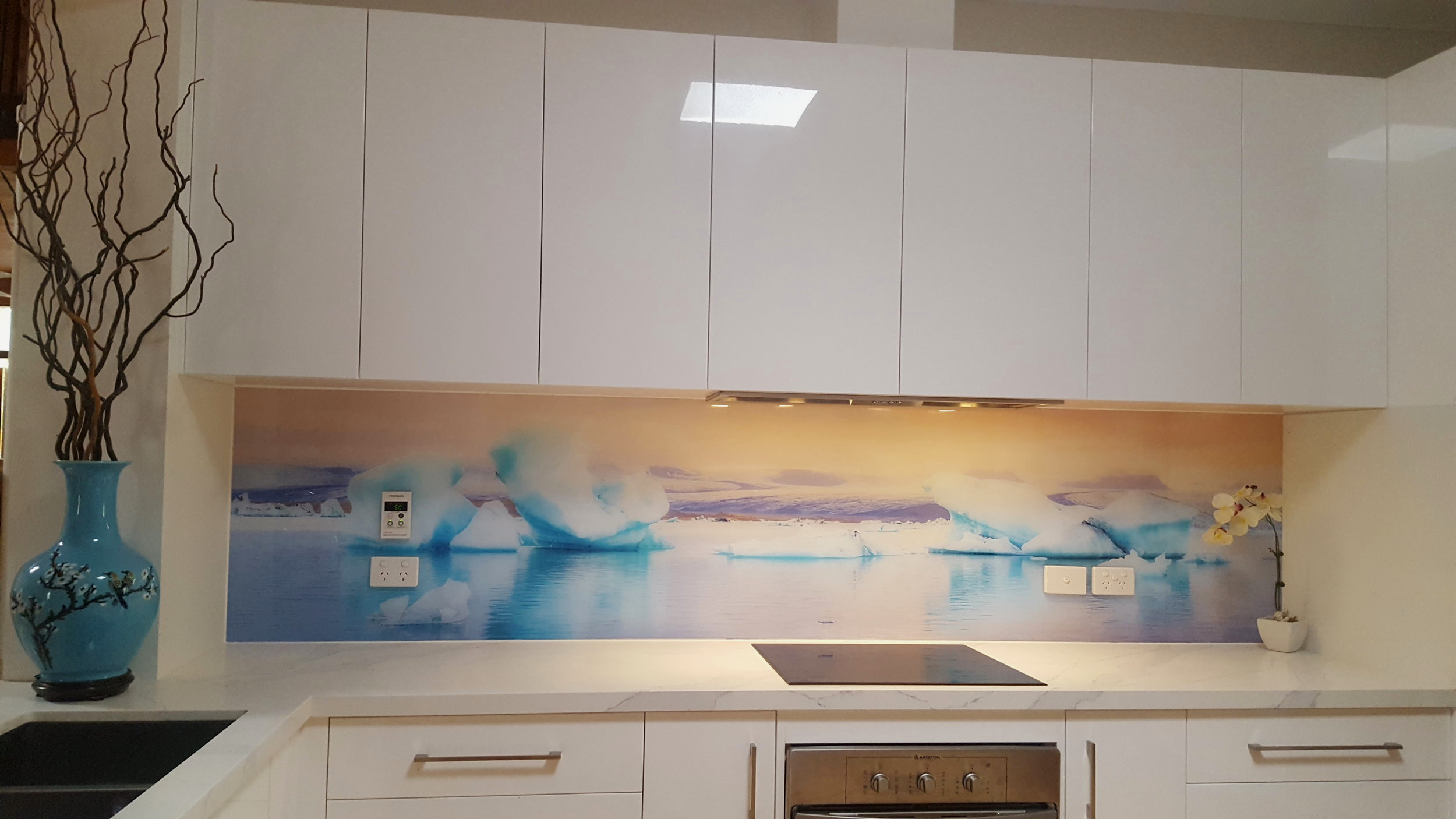 Kitchen Printed Splashback