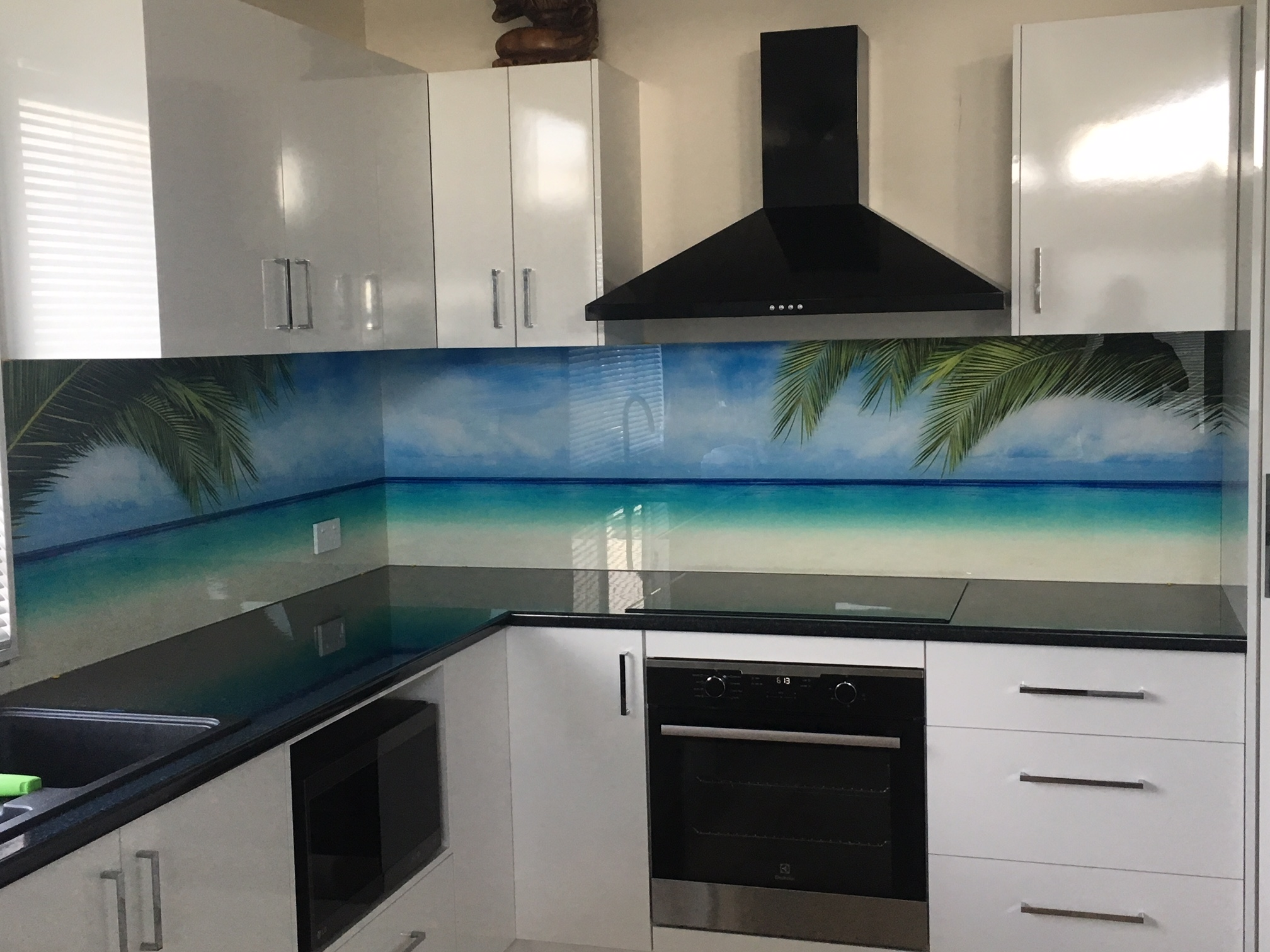 Printed Acrylic Kitchen Splashbacks