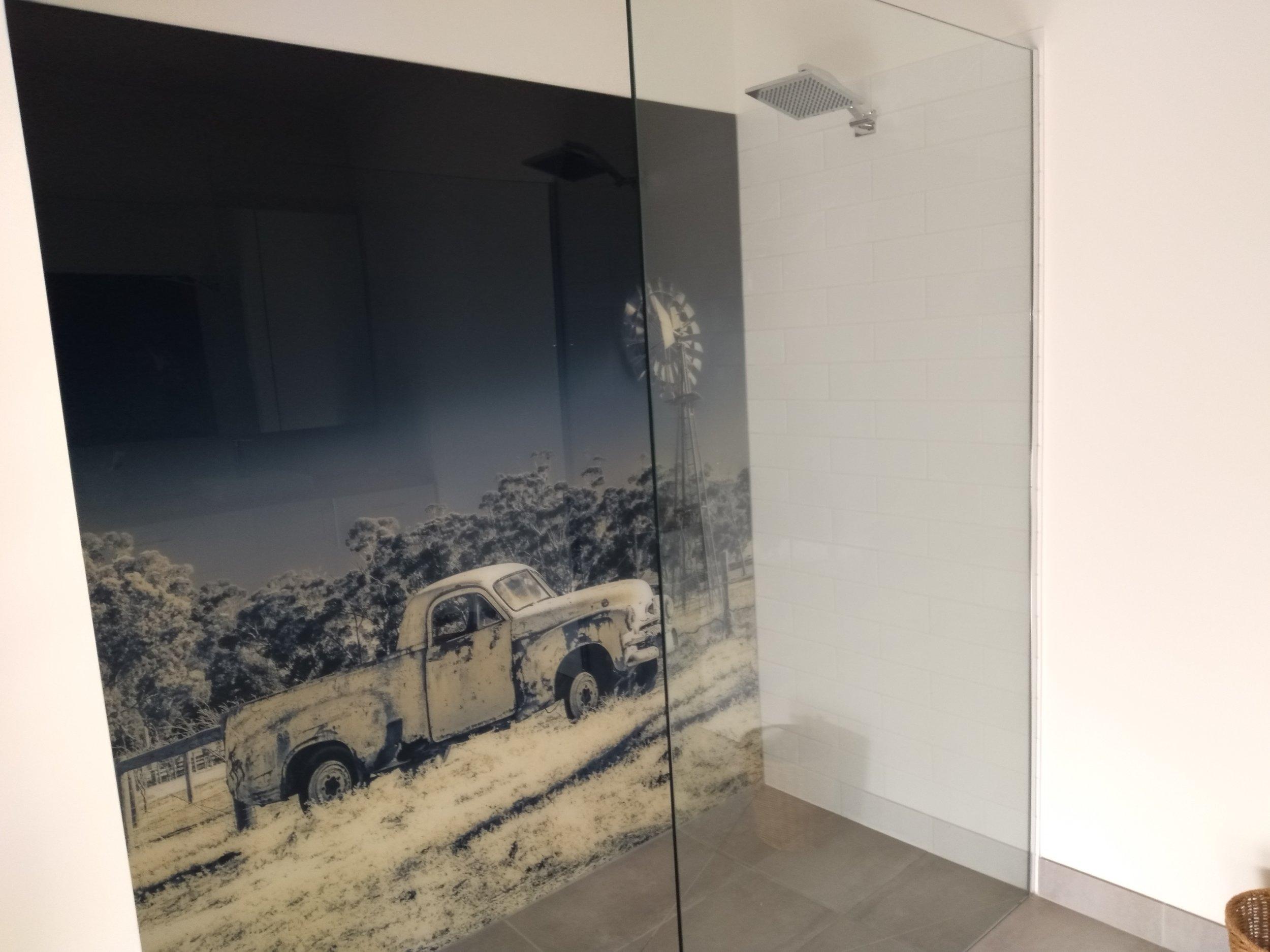 Printed Shower Wall Splashback