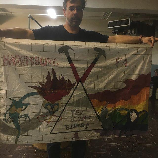 Some fan art from @starset_starlight and @starlight_everglow ! @echoesamericanpinkfloyd #echoes #pinkfloyd #pinkfloydtribute #tributeband #classicrock #harrisburgpa #harrisburg #banner #andrewbedellmusic