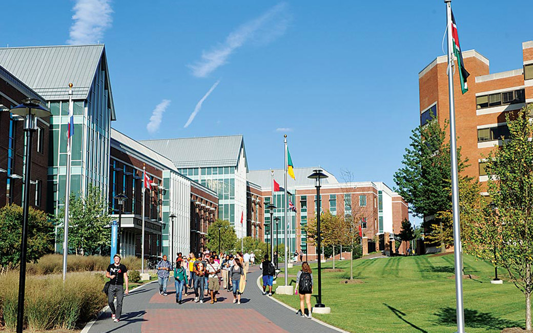 Towson University International Walkway