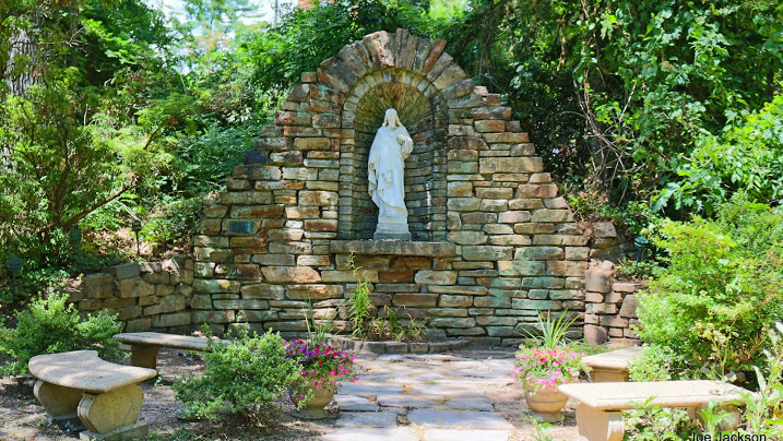 Notre Dame of Maryland University Grotto of the Sacred Heart