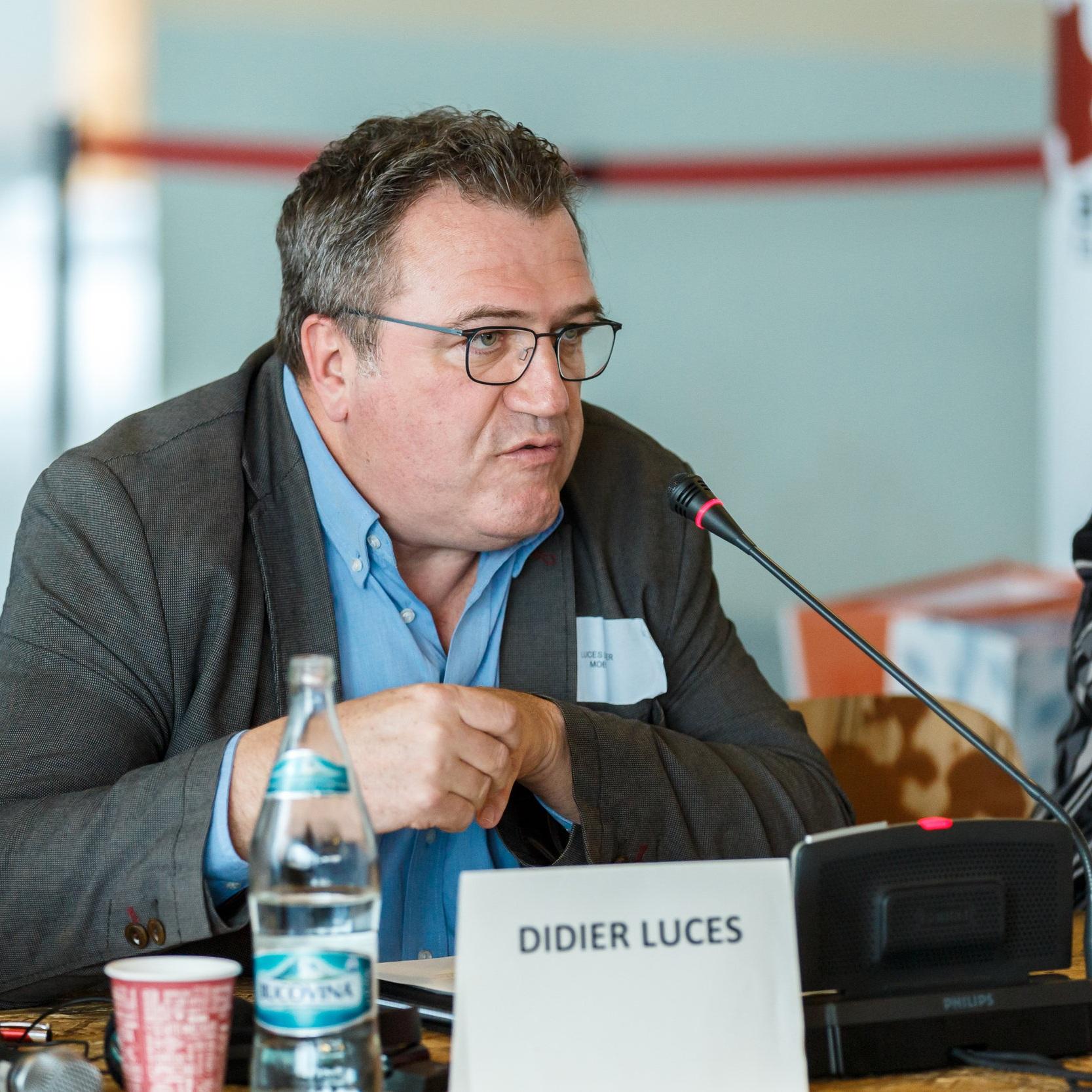 Didier LUCES  Director, Reteaua Mob'In Franta   Pentru o mobilitate incluziva