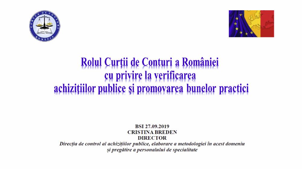 Curtea de Conturi a Romaniei