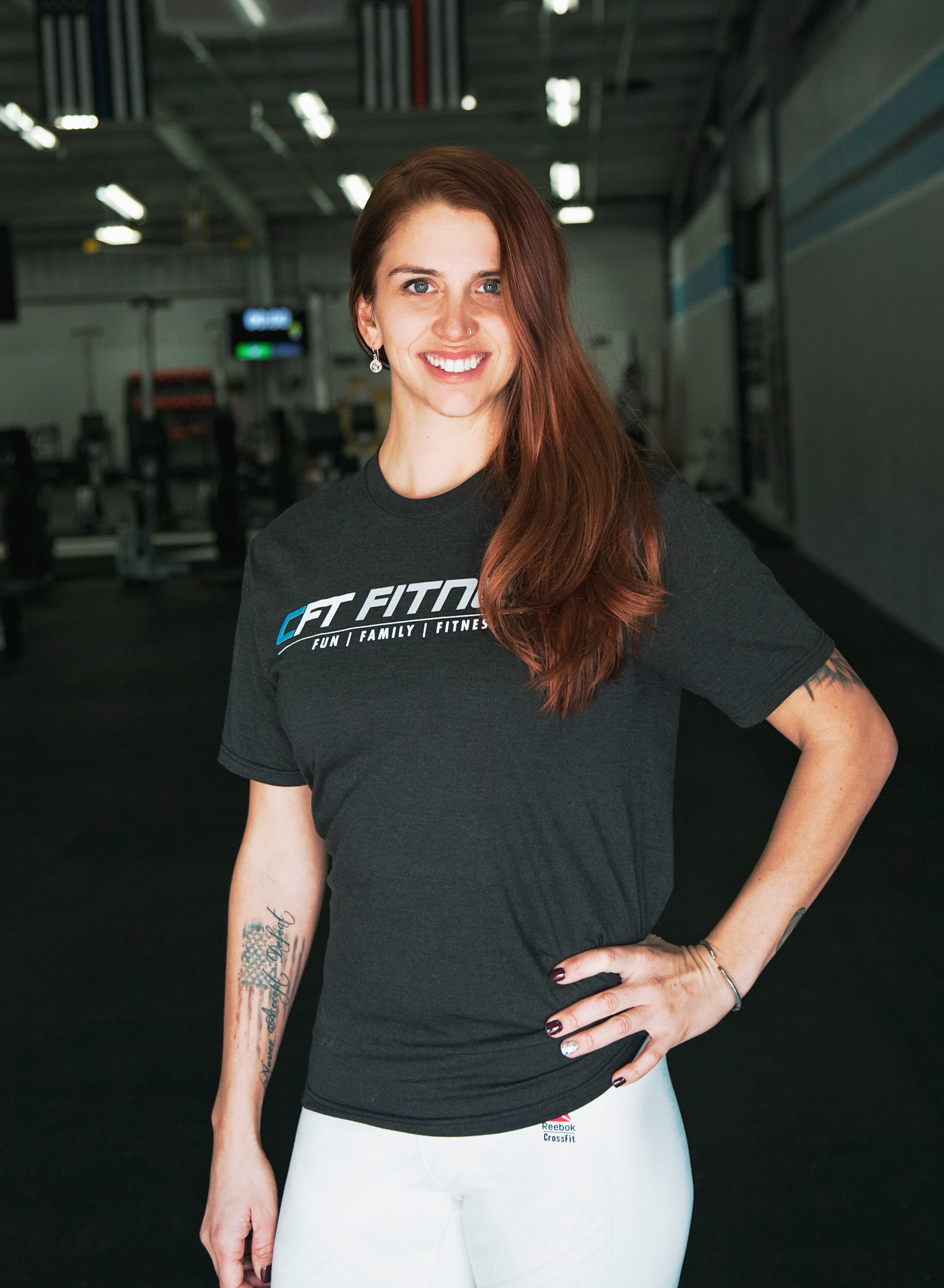 Hi! My name is Lizzie Michael. - I started working at CFT earlier this year when I was looking for another training job. I was so happy to be brought on the team, especially since I was a client since I moved here in 2015. I am here to help you find deficiencies and take you back to basic, back to neutral and build up from there. Giving you more pleasure in your life than pain, prepping you for group glasses or more advanced movements.Little bit about myself, I'm a farm girl from the east coast and I refuse to say Hella. I also cannot help myself from dancing when music is on.If someone was on the fence about whether joining CFT is the right choice, I would help them to see the benefit of having such a variety of coaches and classes to choose from. We work with anyone's compensations, deficiencies and/or injuries, no matter the skill level. This way we can help them build a foundation and a routine to improve their movement efficiency and relieve their body of aches and pains. Guidance and skills to improve their health in the long run. Along with a fun and family oriented facility.Book a session with Lizzie ➝