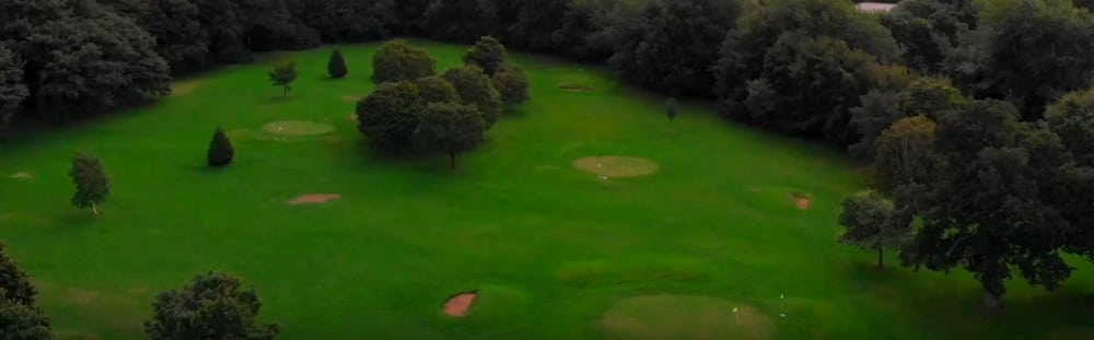 Screenshot taken from Walk of the Week ep.6. The 9-hole pitch-and-put golf course at Heath Park, Cardiff.