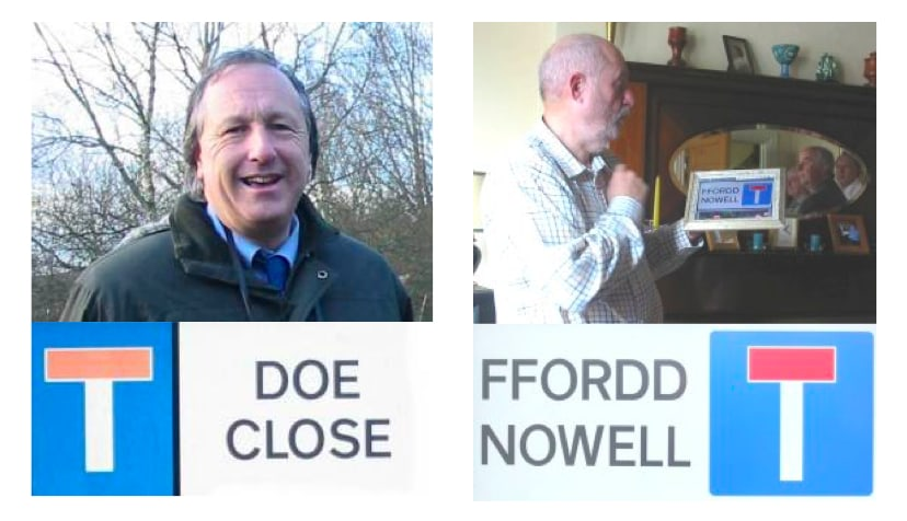 Both Martin Doe and Gerald Nowell have been awarded streets named after them for the outstanding work they have done over the years in developing Howardian Local Nature Reserve. High five guys! (taken from  howardianlnr.org.uk )