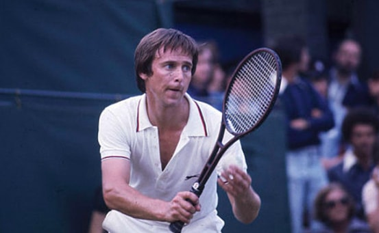 Photograph of David Lloyd in his prime, playing some seriously good tennis! (source:  google.com )