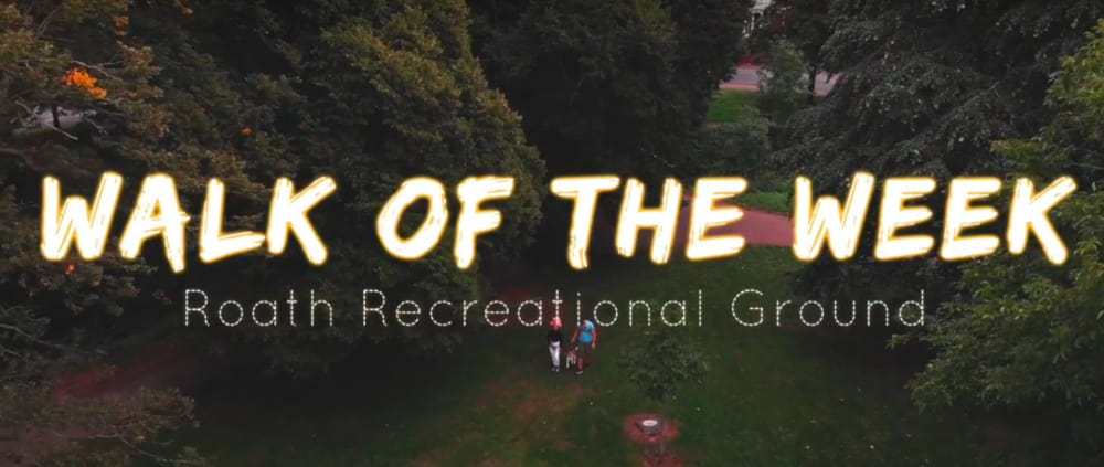 Screenshot taken from Walk of the Week, ep 9. Roath Recreation Grounds