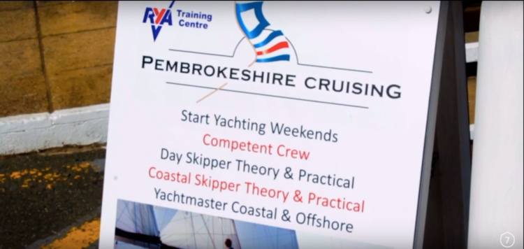 Pembrokeshire Cruising Yachting courses, from Start Yachting to Competent Crew courses are all available.