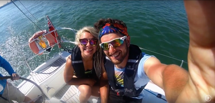 We had a really great time Yachting over the weekend with Pembrokeshire Cruising. The sun was out, and we all caught a tan. It was great fun.