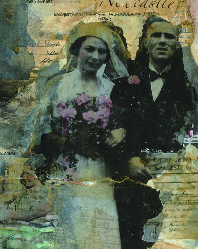 'Marriage'  Mixed Media 200x150mm