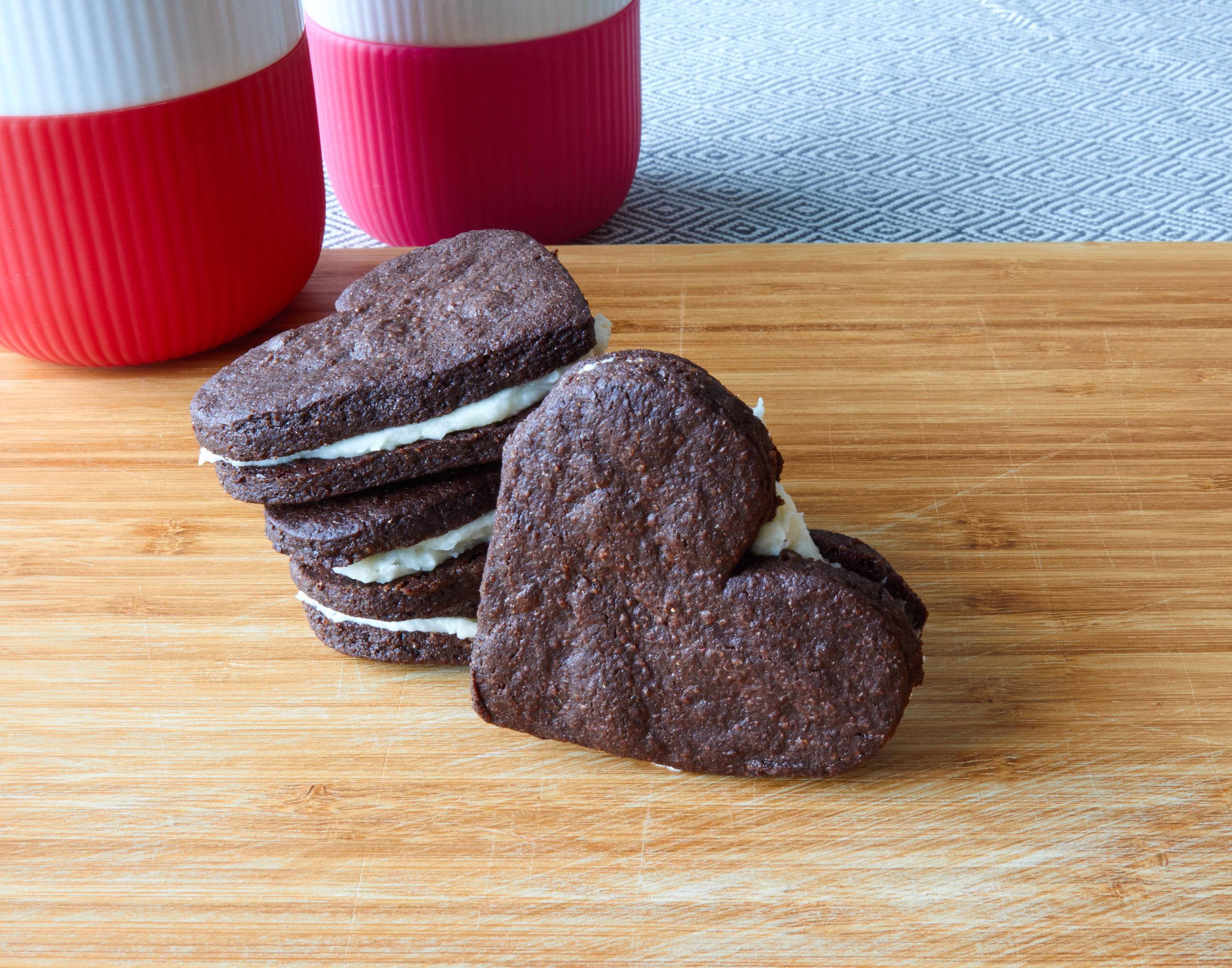 Homemade Oreo Cookies - homemade Oreos, ready to eat | In Carina's Kitchen