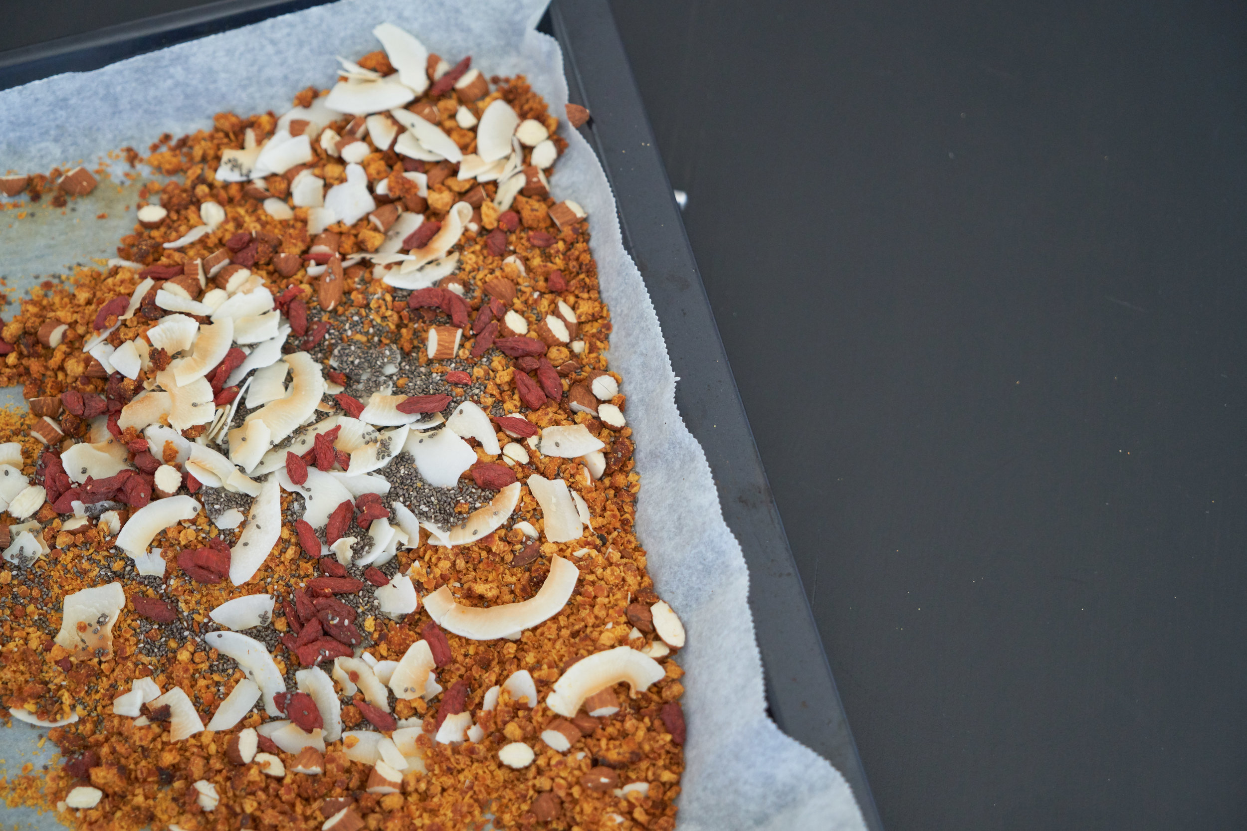 Lentil Granola for a Protein-Rich Breakfast | In Carina's Kitchen