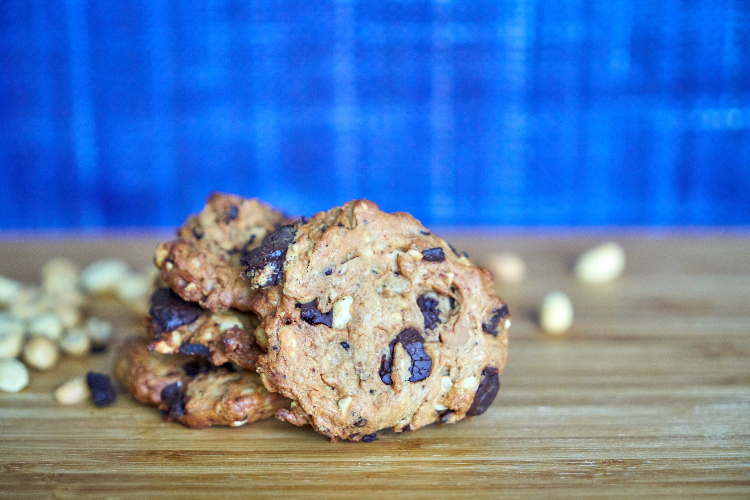 Meat-Free Monday Meal Prep | Full Day Meal Plan - snack: sugar-free peanut butter cookies | In Carina's Kitchen