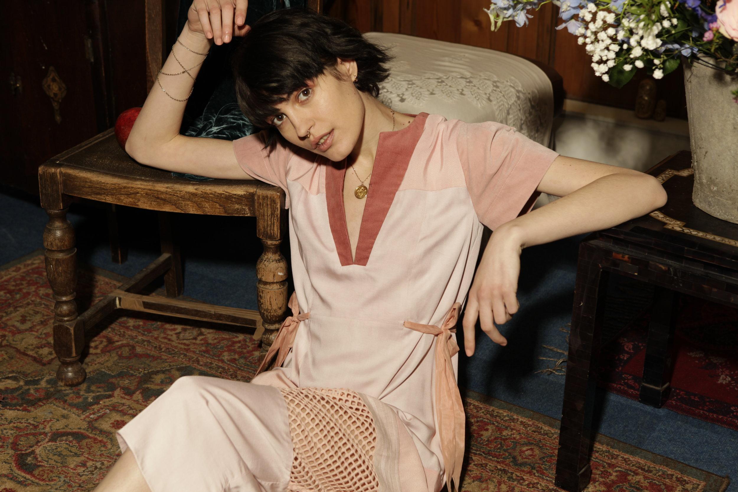 Pink Anja Dress by Baue
