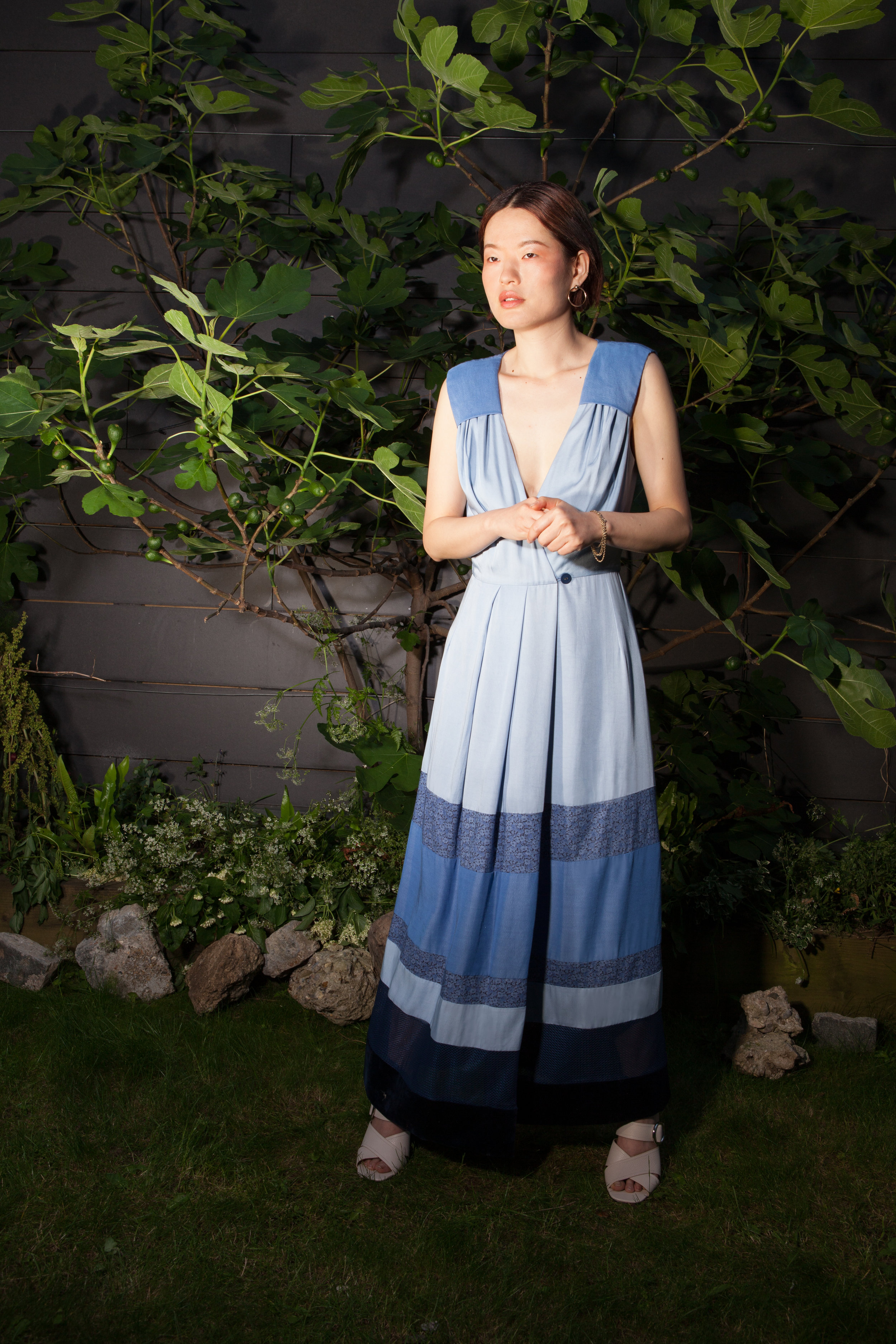 Blue Kalina Dress by Baue