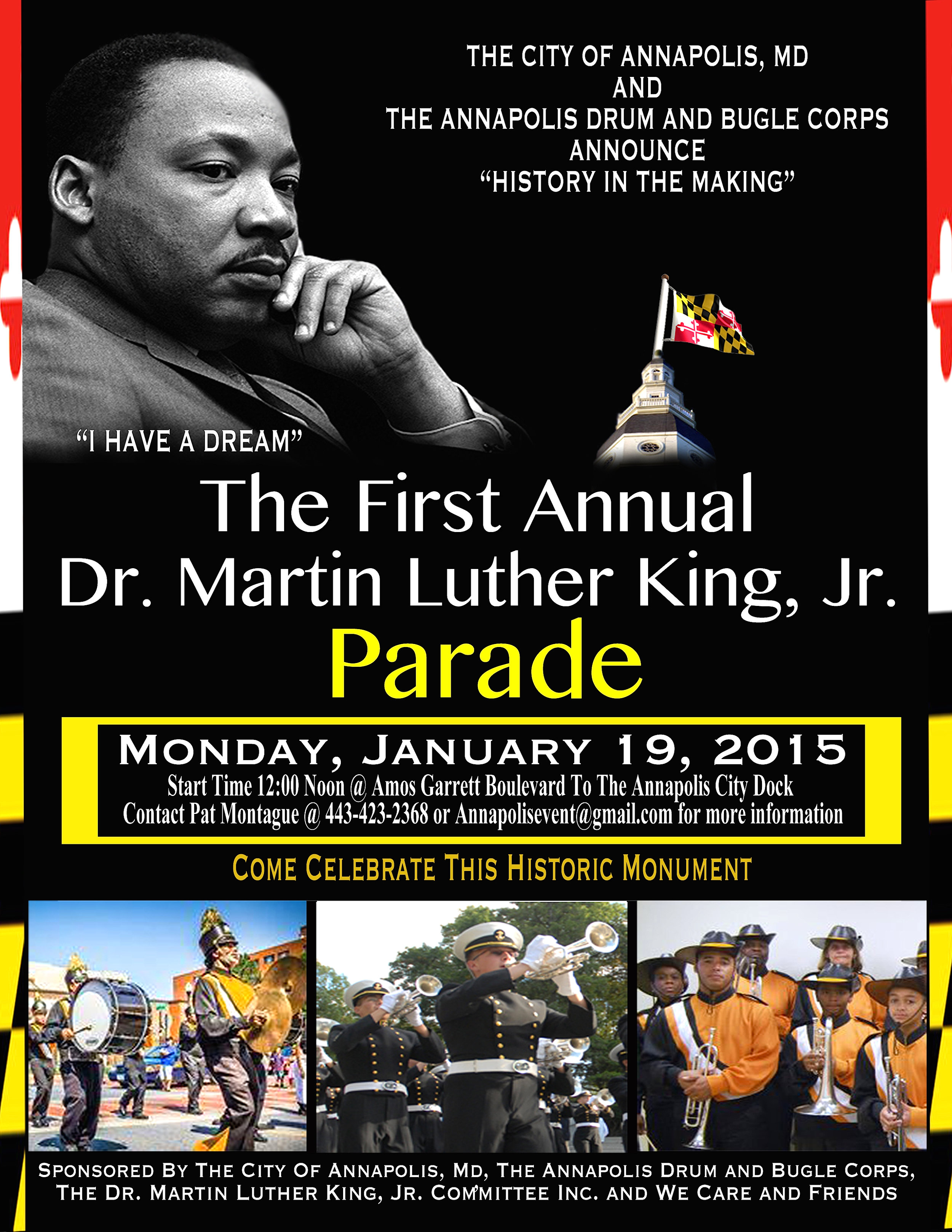 2015 First Annual MLK Parade and Concert